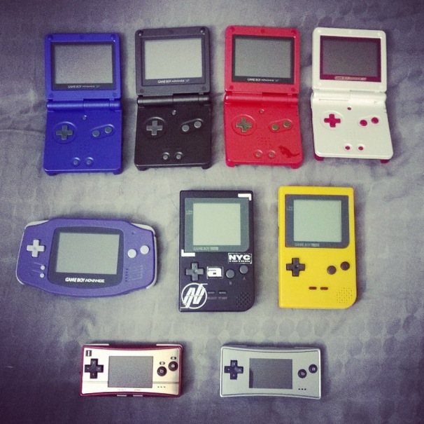 collection game boy